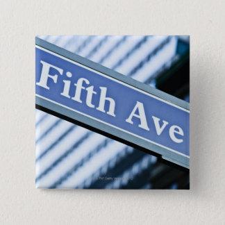 Bóton Quadrado 5.08cm Quinta Avenida