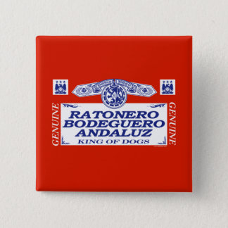 Bóton Quadrado 5.08cm Ratonero Bodeguero Andaluz