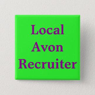 Bóton Quadrado 5.08cm Recruta local de Avon
