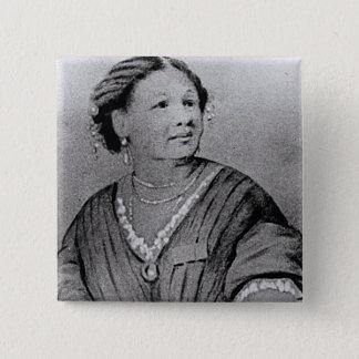 Bóton Quadrado 5.08cm Retrato de Mary Seacole