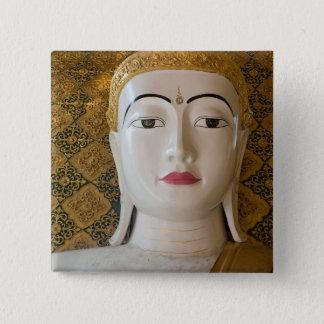 Bóton Quadrado 5.08cm Retrato do estado de Buddha