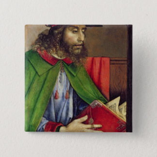 Bóton Quadrado 5.08cm Retrato do Solon c.1475