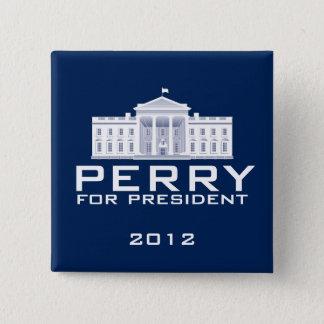 Bóton Quadrado 5.08cm Rick Perry 2012