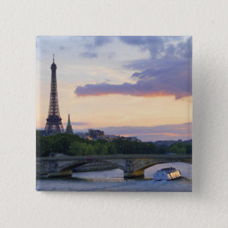 Bóton Quadrado 5.08cm Rio Seine