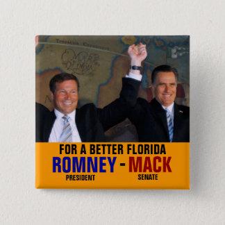 Bóton Quadrado 5.08cm Romney-Mack 2012