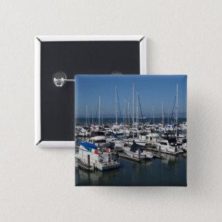 Bóton Quadrado 5.08cm San Francisco envia o botão de #2 Pinback