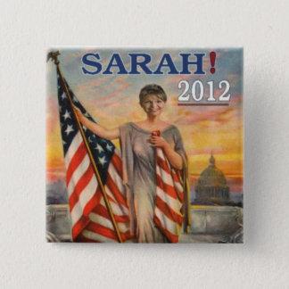 Bóton Quadrado 5.08cm Sarah! 2012