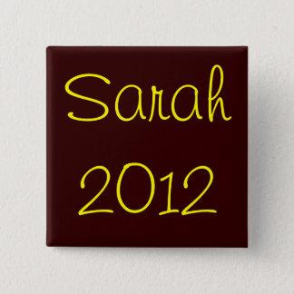 Bóton Quadrado 5.08cm Sarah 2012