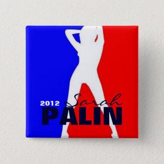 Bóton Quadrado 5.08cm Sarah Palin 2012