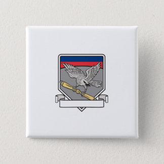 Bóton Quadrado 5.08cm Shrike que embreia o protetor da lâmina de hélice
