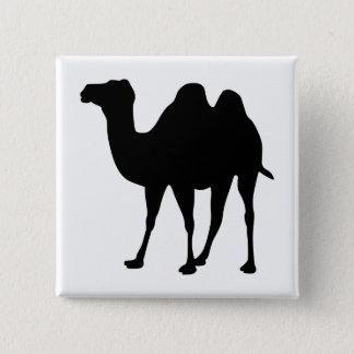Bóton Quadrado 5.08cm Silhueta do camelo