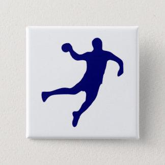 Bóton Quadrado 5.08cm Silhueta do handball