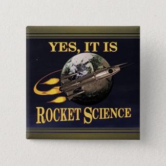 Bóton Quadrado 5.08cm Sim, é astronáutica