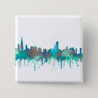 Bóton Quadrado 5.08cm Skyline-SG-Selva de Chicago Illinois