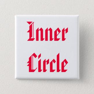 Bóton Quadrado 5.08cm Somente A FAMÍLIA é círculo íntimo