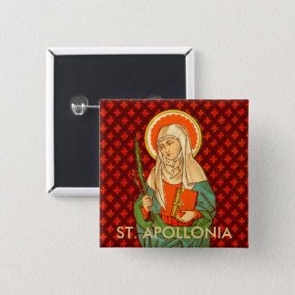Bóton Quadrado 5.08cm St. Apollonia (VVP 001)