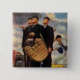 Bóton Quadrado 5.08cm Três árbitros