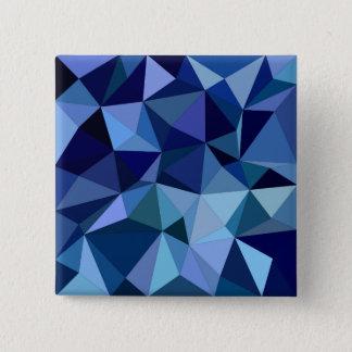Bóton Quadrado 5.08cm Triângulos azuis