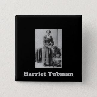 Bóton Quadrado 5.08cm Uma imagem de Harriet Tubman