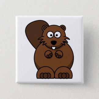 Bóton Quadrado 5.08cm Urso de ursinho do botão