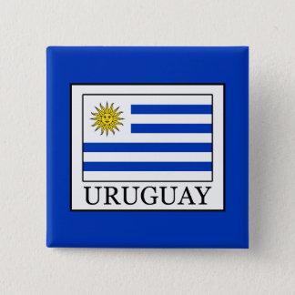 Bóton Quadrado 5.08cm Uruguai