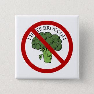 Bóton Quadrado 5.08cm Você ama brócolos?