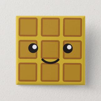 Bóton Quadrado 5.08cm Waffle bonito