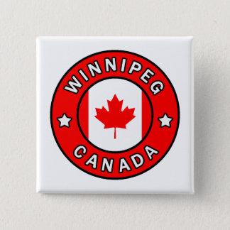 Bóton Quadrado 5.08cm Winnipeg Canadá