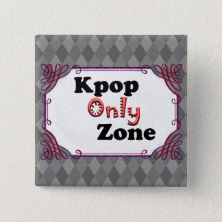 Bóton Quadrado 5.08cm Zona de Kpop somente