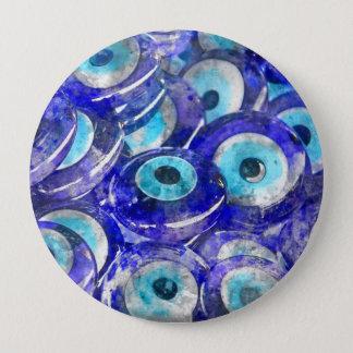 Bóton Redondo 10.16cm A lembrança azul do olho mau vendeu em Istambul