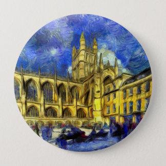 Bóton Redondo 10.16cm Arte da abadia do banho