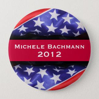 Bóton Redondo 10.16cm Botão da campanha de Michele BACHMANN 2012