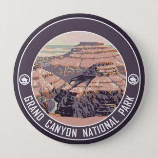 Bóton Redondo 10.16cm Botão da lembrança do parque nacional do Grand