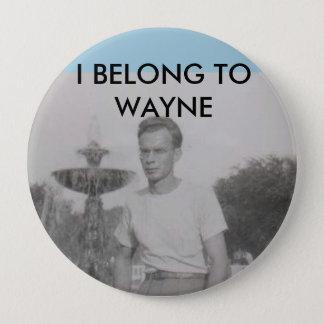Bóton Redondo 10.16cm Botão de Wayne