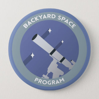 Bóton Redondo 10.16cm Botão do oficial BSP 4inch