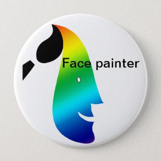 Bóton Redondo 10.16cm Botão do pintor da cara