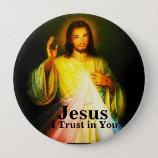 Bóton Redondo 10.16cm Botão redondo da evangelização de DWMoM grande
