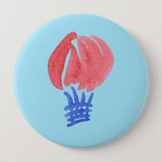 Bóton Redondo 10.16cm Botão redondo enorme do balão de ar