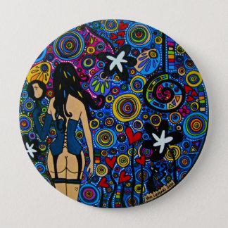 Bóton Redondo 10.16cm Button Mirror