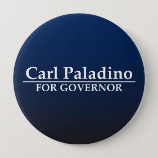 Bóton Redondo 10.16cm Carl Paladino para o governador