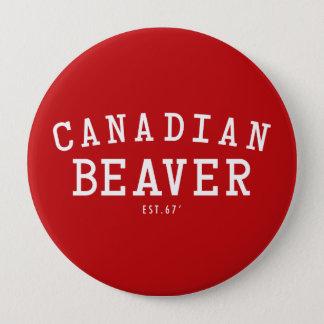 Bóton Redondo 10.16cm Castor canadense 67