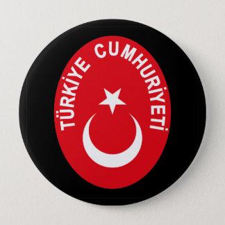 Bóton Redondo 10.16cm COA de Turkiye (Turquia)