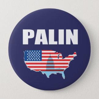 Bóton Redondo 10.16cm Engrenagem da eleição de SARAH PALIN