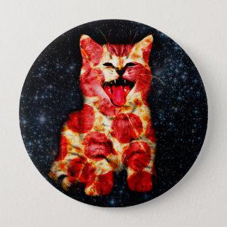 Bóton Redondo 10.16cm gato da pizza - gatinho - gatinho