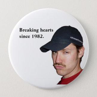 Bóton Redondo 10.16cm Heartbreaker