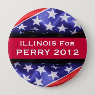 Bóton Redondo 10.16cm Illinois para o botão de PERRY 2012