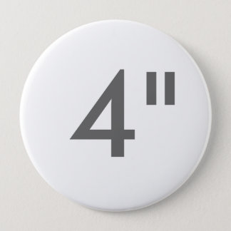"Bóton Redondo 10.16cm Impressão feito sob encomenda 4"" modelo redondo"