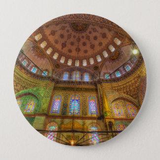 Bóton Redondo 10.16cm Mesquita azul Istambul