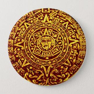 Bóton Redondo 10.16cm Meu calendário maia (Pin-no botão)