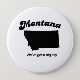 Bóton Redondo 10.16cm Montana - céu grande